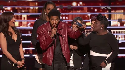 We Interviewed the Guy Who Crashed the People's Choice Awards Stage to Yell About Kanye