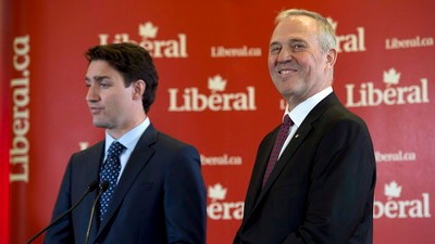 Canadian PM Justin Trudeau to Put Former Top Cop in Charge of Marijuana Legalization