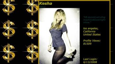 Kesha's Myspace Profile from 2008 Is Better Than DJ Khaled's Snapchat