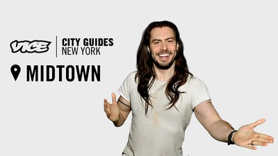 Andrew WK Loves Midtown Steak and Relaxes in Train Stations