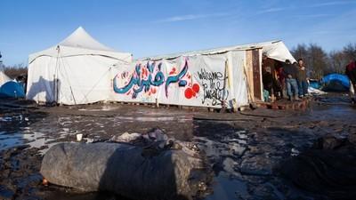 Die Flüchtlingslager bei Calais sind wuchernde Dschungel des Elends
