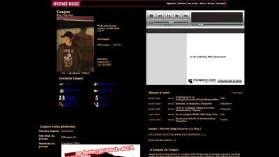 Das waren die MySpace-Seiten von Casper, Sido und Marteria