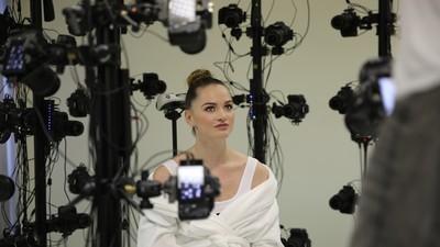 Wir waren bei Tori Blacks erstem Ausflug in die Welt des Virtual-Reality-Pornos dabei