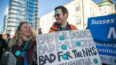 The UK's Junior Doctors Are on Strike