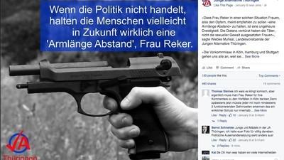 Wegen dieses Fotos wurde die Thüringer AfD-Jugend angezeigt