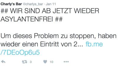 Wir haben die Betreiberin der Bad Ischler Bar befragt, die Asylwerber aussperrt