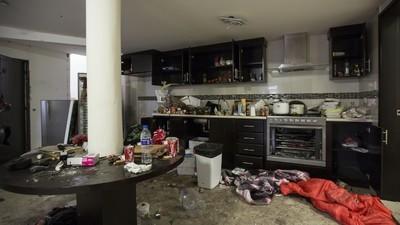 Foto's van het huis waar El Chapo wekenlang ondergedoken zat