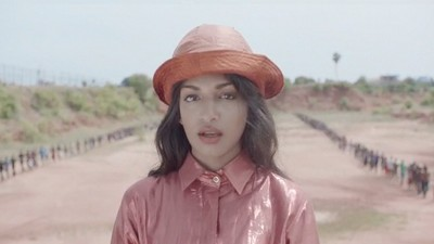 M.I.A. Talks About the 'Borders' Video and Why She's Getting Legal Threats for a Soccer Jersey