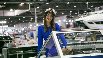 Among the Rich People, Celebrities, and Yachts of the London Boat Show