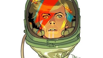 Een getekende ode aan David Bowie