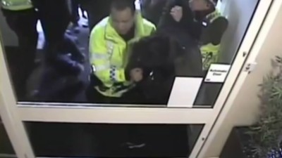 Exclusive: See Shocking Footage of British Police Officers Attacking Peaceful Protestors