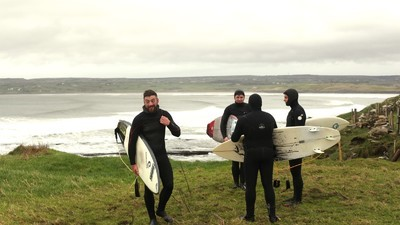 I Went Hungover Big Wave Surfing in Ireland During Storm Frank
