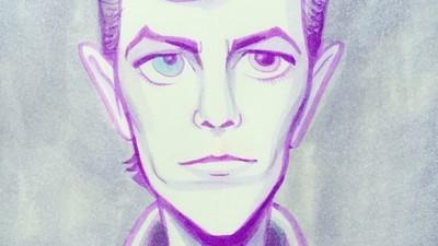 Ilustrații cu un David Bowie pe care nu l-am cunoscut niciodată