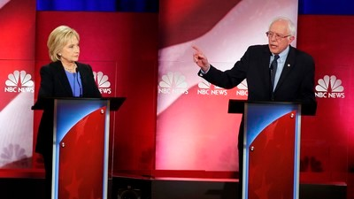 Sunday's Democratic Debate Showed How Seriously Bernie Sanders Is Being Taken