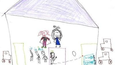 Die erschütternden Bilder, die Kinder kurz vor der drohenden Abschiebung aus den USA gemalt haben