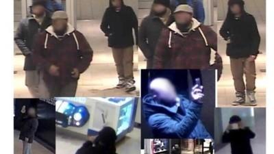 Wenn bärtige Männer Fotos von einer Mall machen