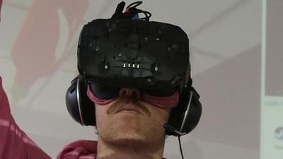 Este tipo se pasó 48 horas en realidad virtual