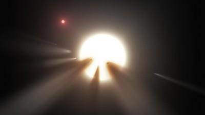 Wetenschappers kunnen maar geen verklaring vinden voor die knipperende ster