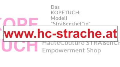 Jemand hat hc-strache.at gekauft und macht daraus einen Online-Shop für Kopftücher