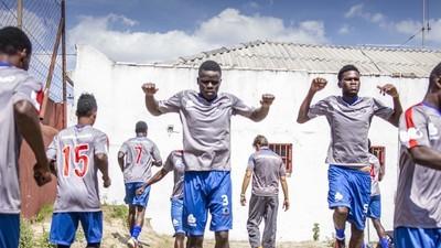 O futebol do Haiti é aqui