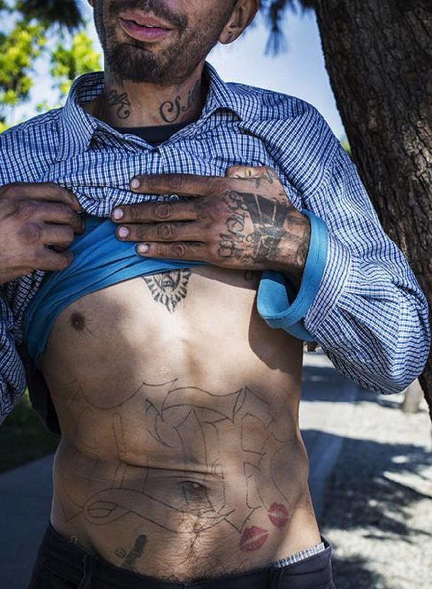 Foto della violenza quotidiana nel nord del Messico