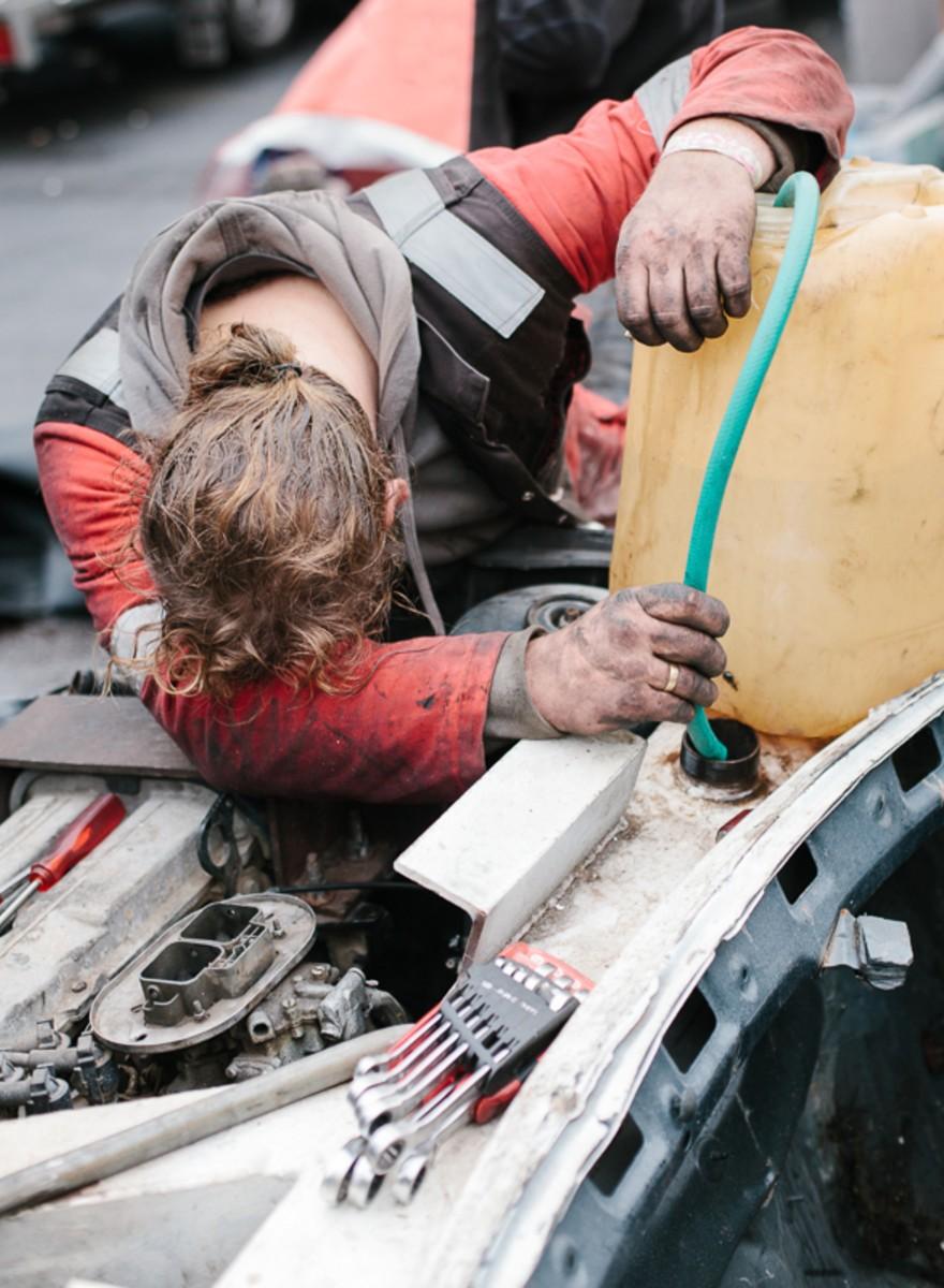 'Bangers': scheuren met schrootauto's