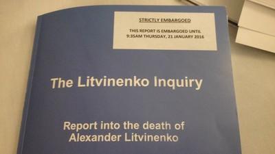 Putin 'Probably' Ordered Litvinenko's Death, Inquiry Finds
