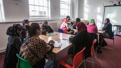 Inside Britain's English Classes for Muslim Immigrants