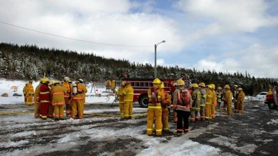The Canadian Town Where 20 Male Firefighters Quit After Their Only Female Colleague Complained of Harassment