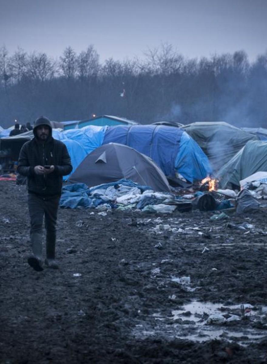 De situatie in het vluchtelingenkamp van Duinkerken is nog erger dan in Calais