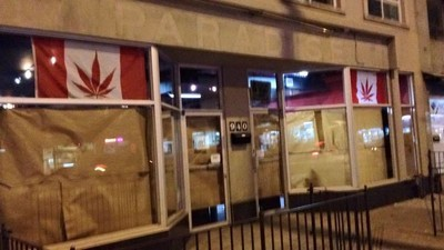 The Owners of Toronto's First Recreational Pot Shop Were Arrested During a Police Raid