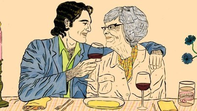 Dealing with a 40-Year Age Gap: What It's Like to Date Across the Generations