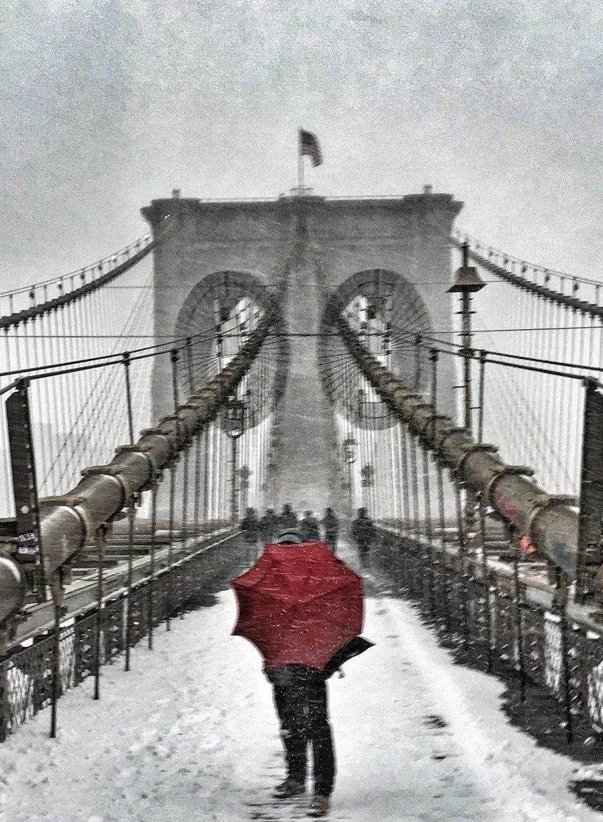 Scenes from NYC During the Blizzard That Rocked the City