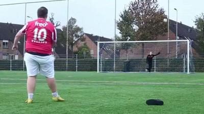 'Man Vs Fat': el Reino Unido acoge la primera liga de fútbol para gordos