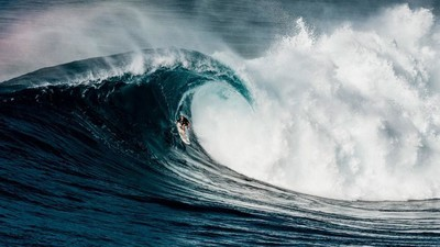 We Tagged Along for the Biggest Surf at Jaws in more than a Decade
