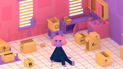 Trina is Packin' Up and Movin' Out in Today's Comic from Julian Glander
