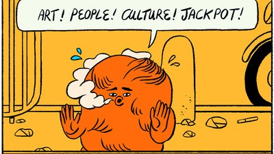 Even Michael's Hair Is Bored in This Week's Comic from Stephen Maurice Graham