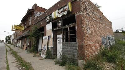 Het slopen van Detroit