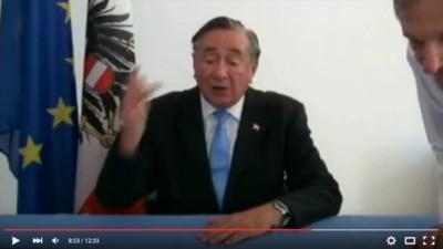 Die besten Zitate aus Richard Lugners Antrittsvideo zur Bundespräsidentenwahl