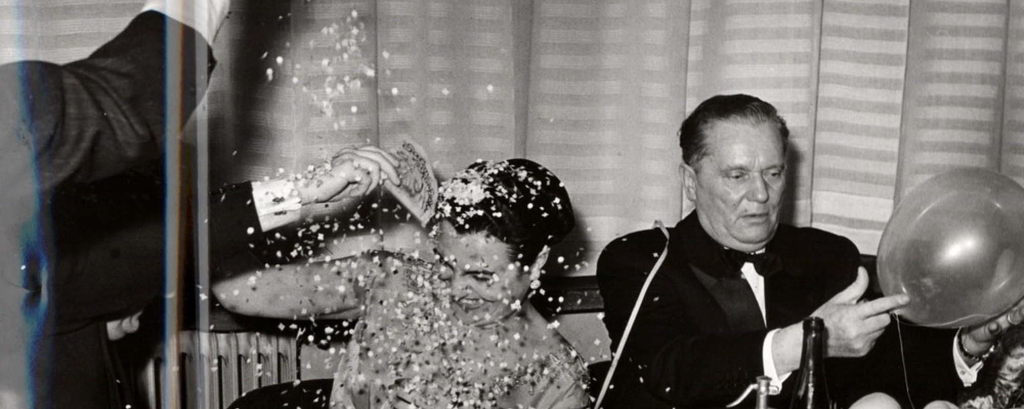 De uitbundige oud-en-nieuwfeesten van communistisch leider Tito