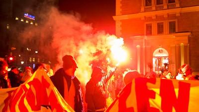 Der Akademikerball und Gegendemonstrationen 2016
