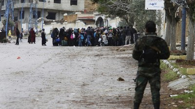 Exclusive: Meet the Syrian Rebel Commander in the Besieged City of Madaya