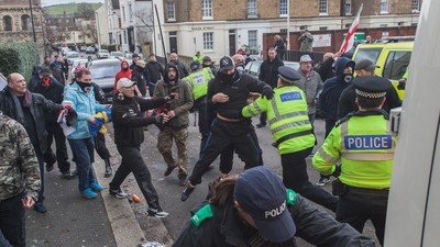 We Saw Fascists and Anti-Fascists Make Each Other Bleed in Dover