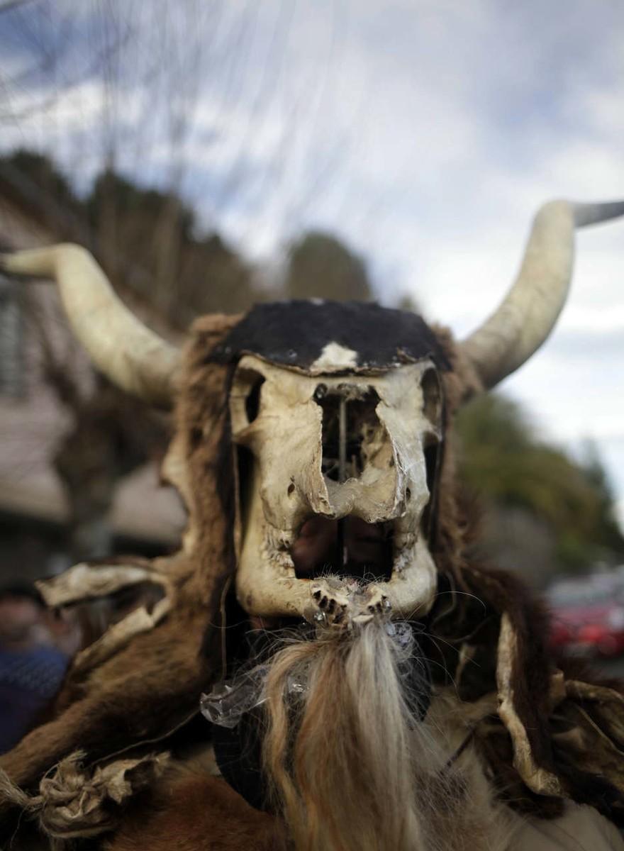 Fotografías del carnaval ancestral de Lugo que prohibieron durante la Guerra Civil