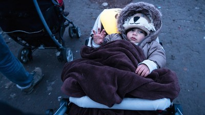 Een kijkje in het vluchtelingenkamp in Duinkerken