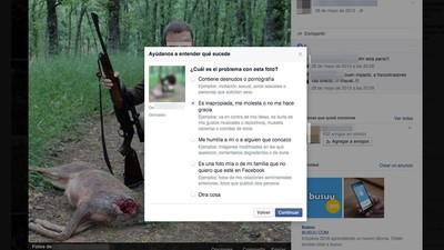 Objetivo: trolear a cazadores y taurinos en Facebook