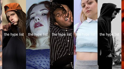 The Hype List 2016