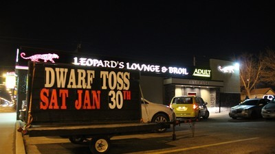 A 'Dwarf Toss' in a Strip Club Still Draws a Big Crowd, Apparently