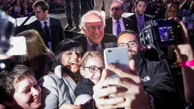 How Bernie Sanders Stood Up to Hillary Clinton in Iowa