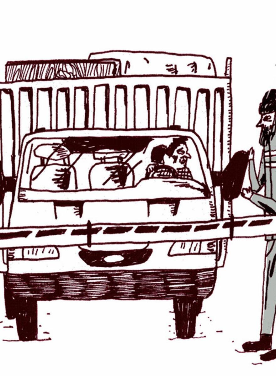 Kreslený kouzlo směťáku
